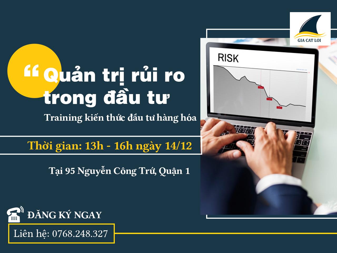 Training kiến thức đầu tư HCM